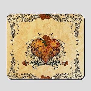 Beautiful heart Mousepad