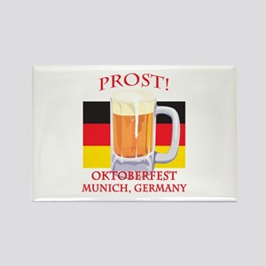 Munich Germany Oktoberfest Rectangle Magnet