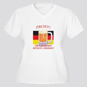 Munich Germany Oktoberfest Women's Plus Size V-Nec