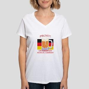 Munich Germany Oktoberfest Women's V-Neck T-Shirt