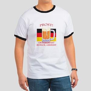 Munich Germany Oktoberfest Ringer T