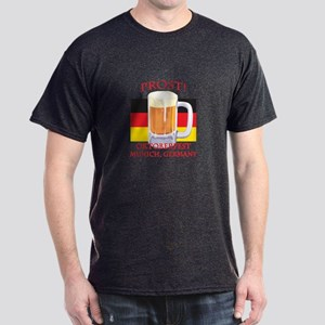 Munich Germany Oktoberfest Dark T-Shirt