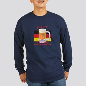 Munich Germany Oktoberfest Long Sleeve Dark T-Shir