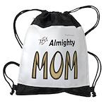 Almighty Mom Drawstring Bag