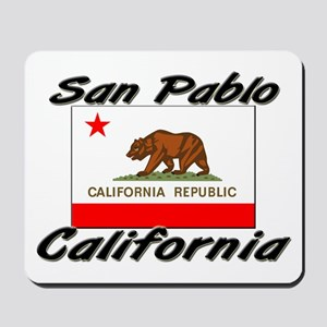 San Pablo California Mousepad
