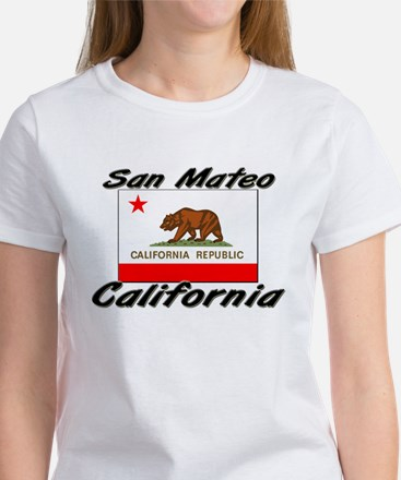 San Mateo California Women's T-Shirt