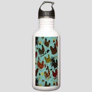 Fun Chickens Stainless Water Bottle 1.0L
