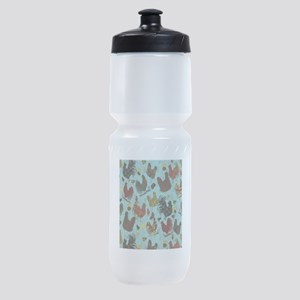 Fun Chickens Sports Bottle