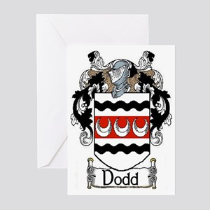 Dodd Coat of Arms Greeting Cards (Pk of 20)