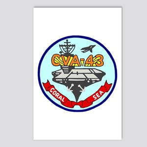 USS Coral Sea (CVA 43) Postcards (Package of 8)