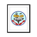 USS Coral Sea (CVA 43) Framed Panel Print