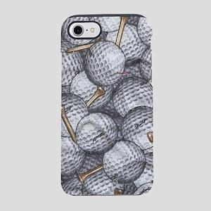 Golf Balls iPhone 8/7 Tough Case