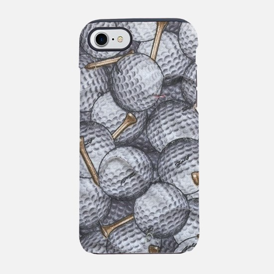 Golf Balls iPhone 8/7 Tough Case
