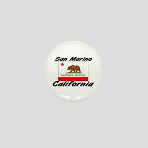 San Marino California Mini Button