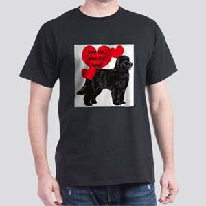 black newf love White T-Shirt