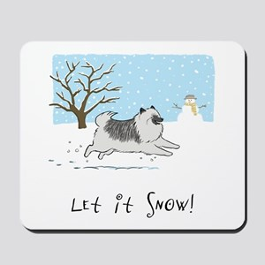 "Keesie ""Let It Snow"" Mousepad"