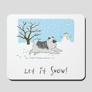 "Keesie ""Let It Snow"" Mousepad"