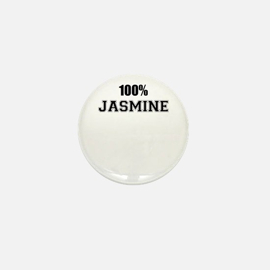 100% JASMINE Mini Button