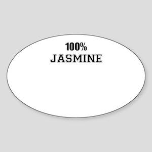 100% JASMINE Sticker