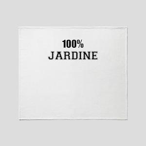 100% JARDINE Throw Blanket