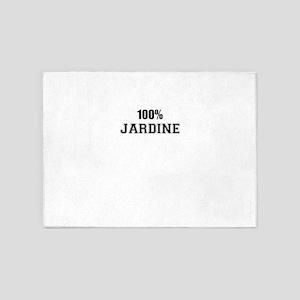 100% JARDINE 5'x7'Area Rug