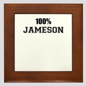 100% JAMESON Framed Tile