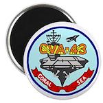 "USS Coral Sea (CVA 43) 2.25"" Magnet (10 pack)"