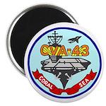 "USS Coral Sea (CVA 43) 2.25"" Magnet (100 pack)"