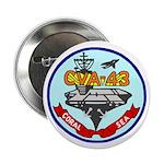 """USS Coral Sea (CVA 43) 2.25"""" Button (10 pack)"""