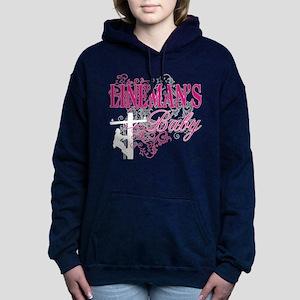linemans baby black shirt with pole Sweatshirt
