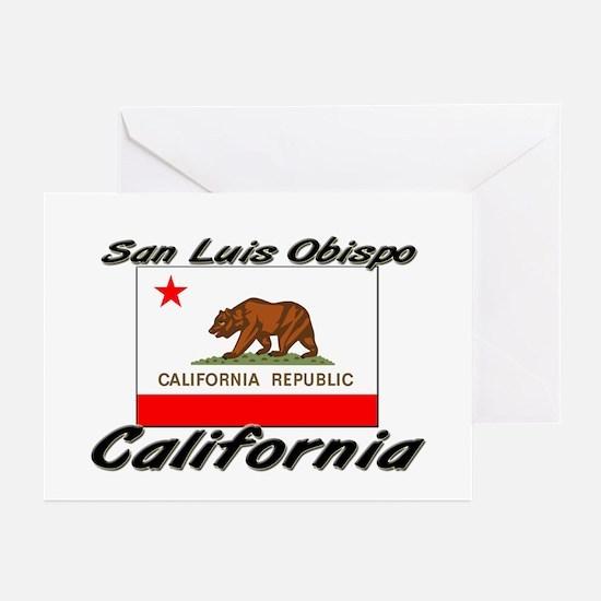 San Luis Obispo California Greeting Cards (Pk of 1