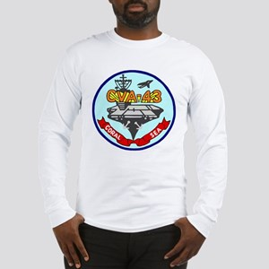 USS Coral Sea (CVA 43) Long Sleeve T-Shirt