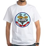 USS Coral Sea (CVA 43) White T-Shirt