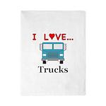 I Love Trucks Twin Duvet