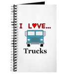 I Love Trucks Journal