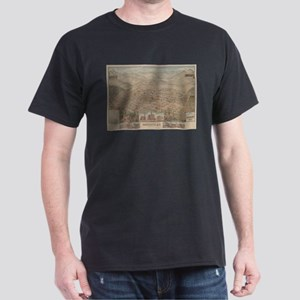 Vintage Pictorial Map of Prescott Arizona T-Shirt