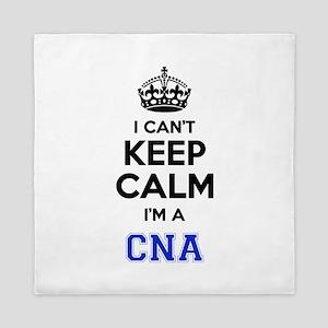 I cant keep calm Im CNA Queen Duvet