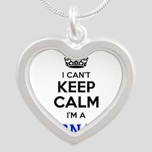I cant keep calm Im CNA Necklaces