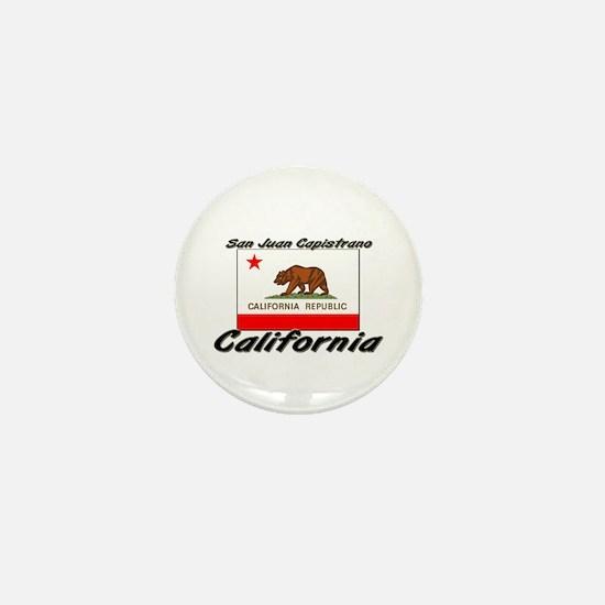 San Juan Capistrano California Mini Button