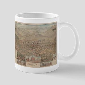 Vintage Pictorial Map of Prescott Arizona (18 Mugs