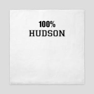 100% HUDSON Queen Duvet