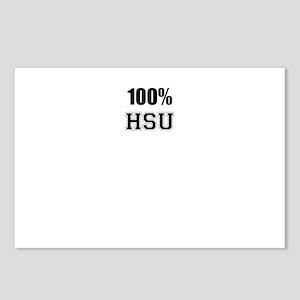100% HSU Postcards (Package of 8)