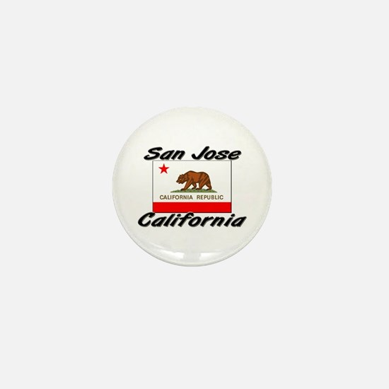 San Jose California Mini Button