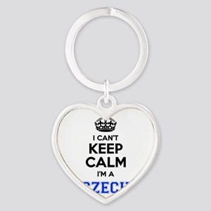 I cant keep calm Im CZECH Keychains