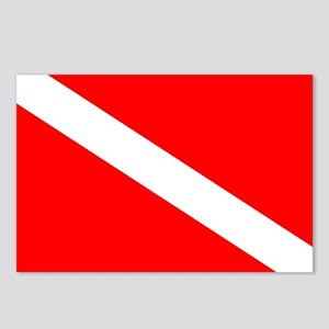 Diver Down Flag Postcards (Package of 8)