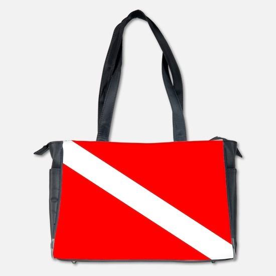 Diver Down Flag Diaper Bag