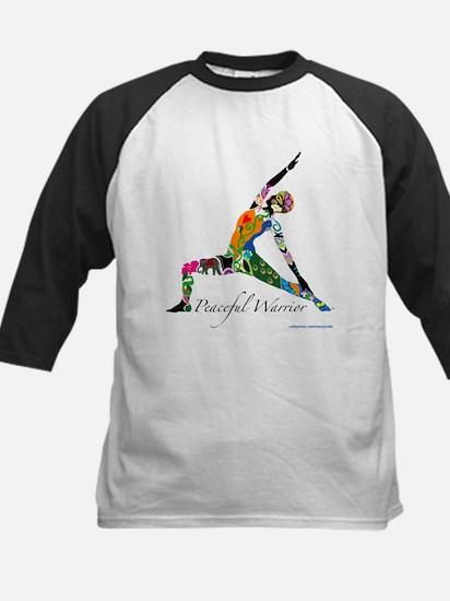 Peaceful Warrior by Nancy Vala Baseball Jersey