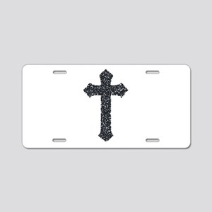 cross Aluminum License Plate