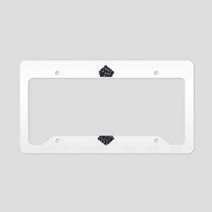 cross License Plate Holder