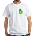 Schneider White T-Shirt